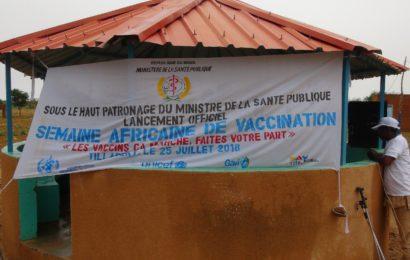 Lancement officiel de la semaine africaine de vaccination (SAV) :  édition 2018