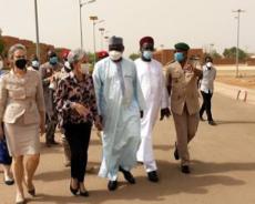 Visite du Ministre de la Santé Publique, de la Population et des Affaires Sociales à l'Hôpital Général de Référence
