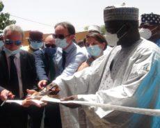 Inauguration du nouvel hôpital de district de Gotheye