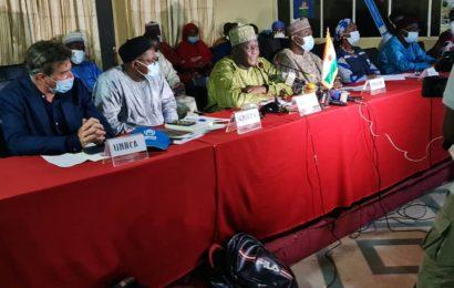 Supervision MSP/P/AS et partenaires dans la région de Maradi Les images