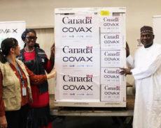 OMS Niger News : le Niger reçoit 100 800 doses du vaccin AstraZeneca don du gouvernement canadien.
